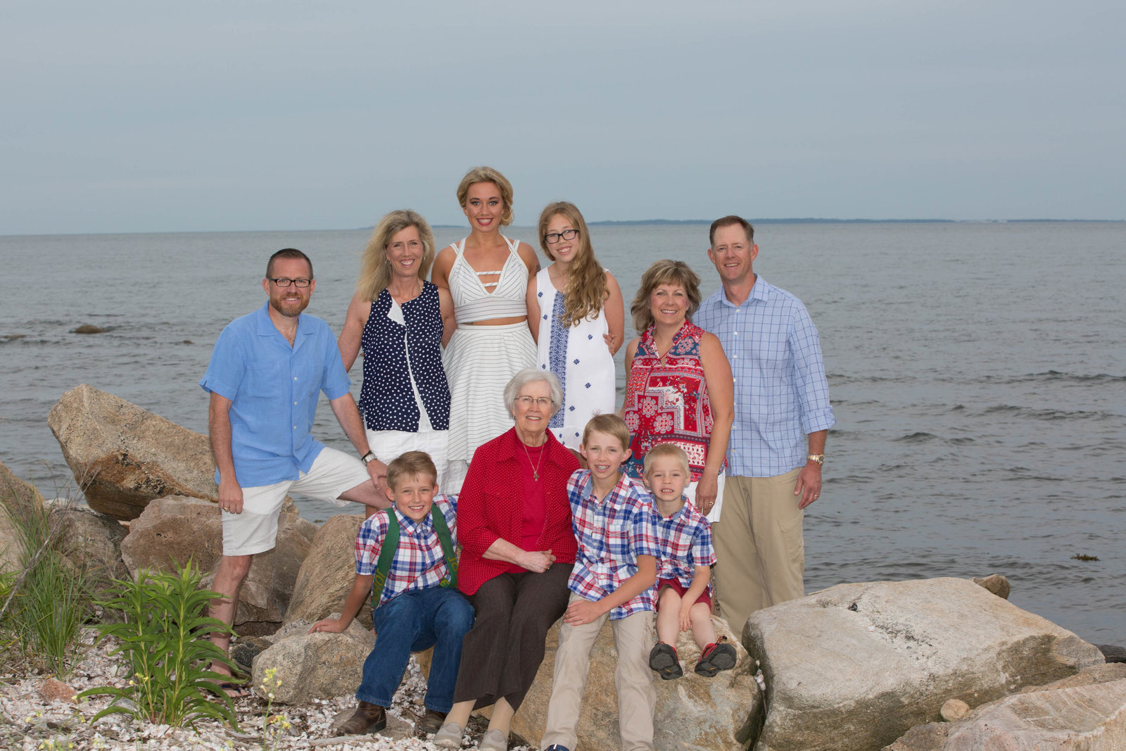 family portrait at Griswold Point