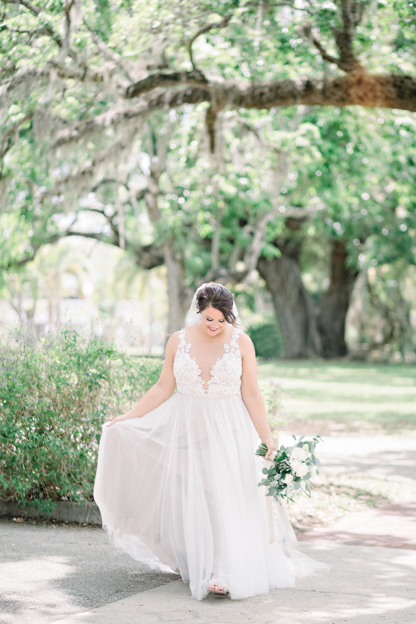 bride photography in fort myers florida