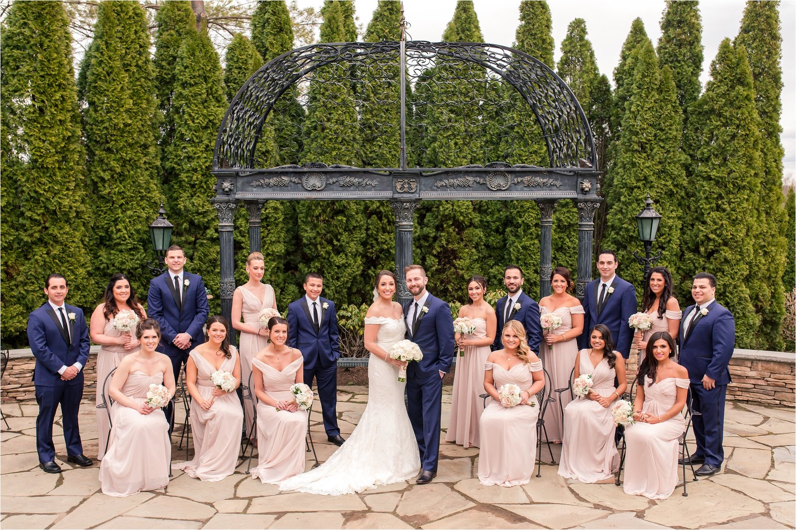 Park Savoy Estate Bridal Party Photo