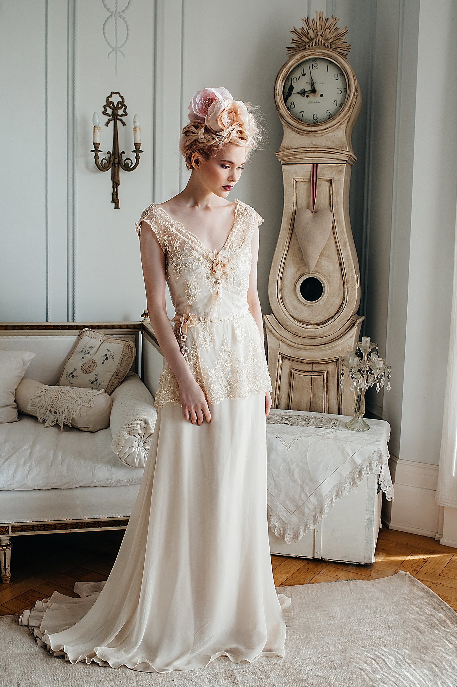 LilyElsie_beaded _lace_edwardian_champagne_wedding_dress_JoanneFlemingDesign (6)