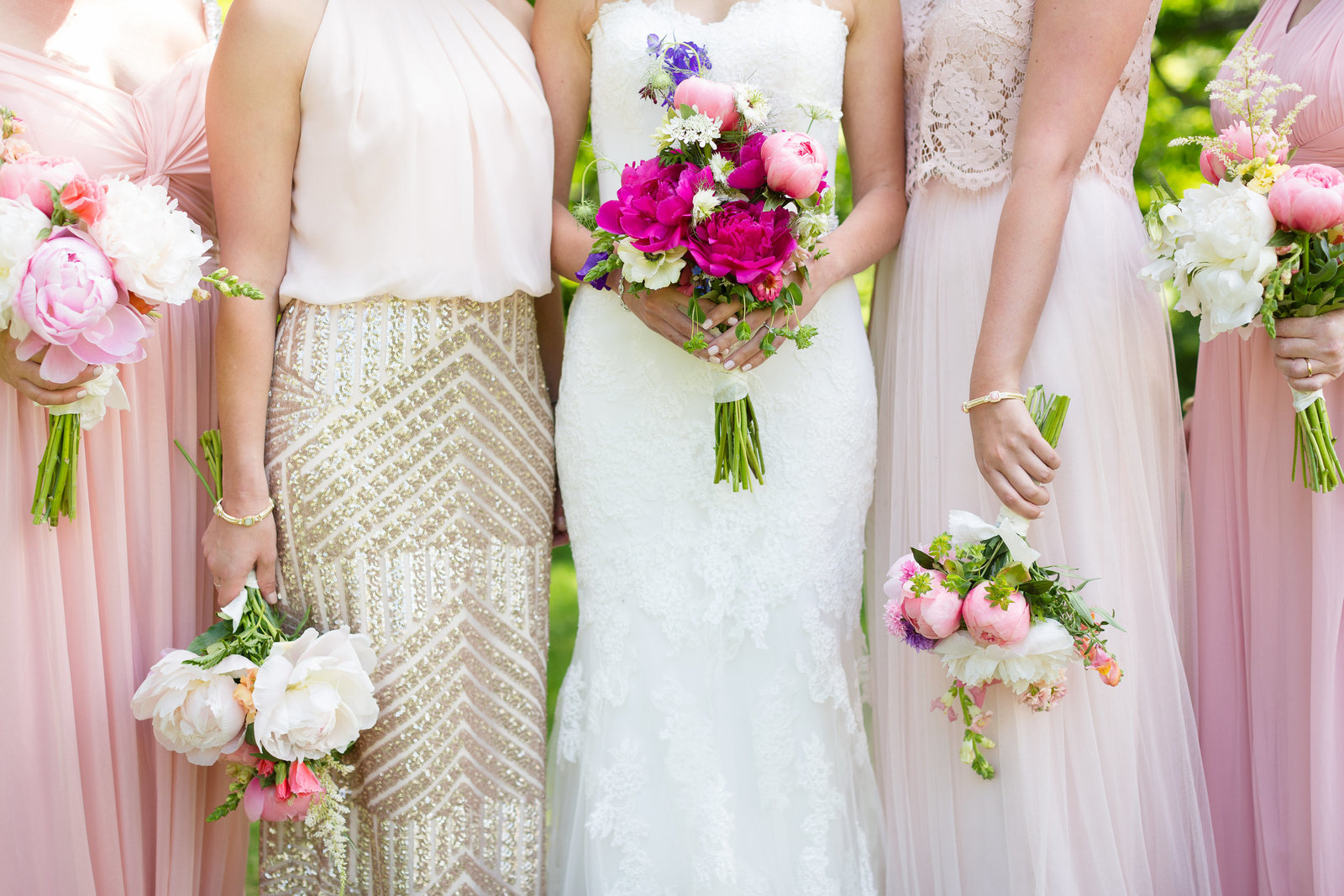 Blush Wedding Florals