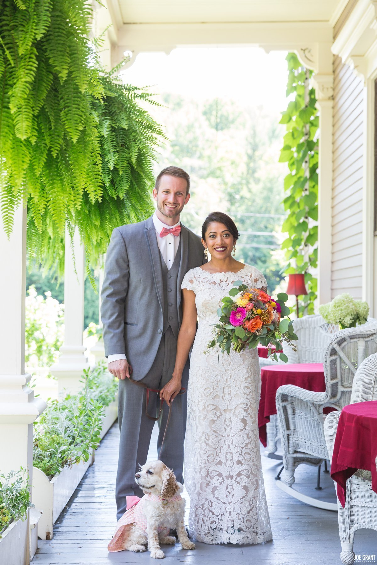 Saratoga Mansion Inn Wedding