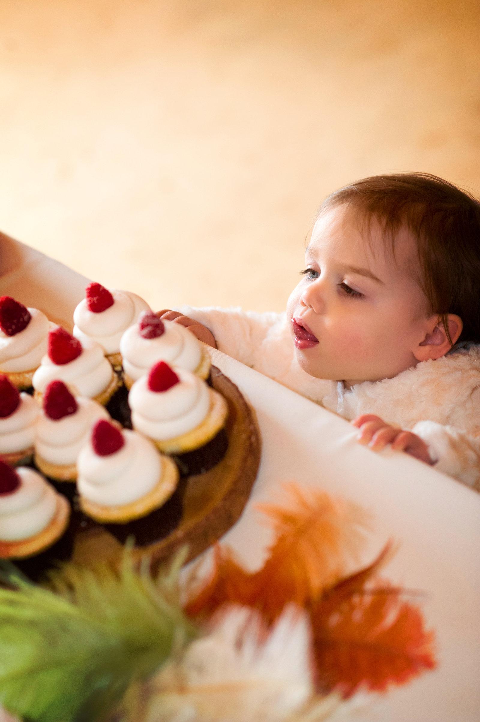 cake and kids