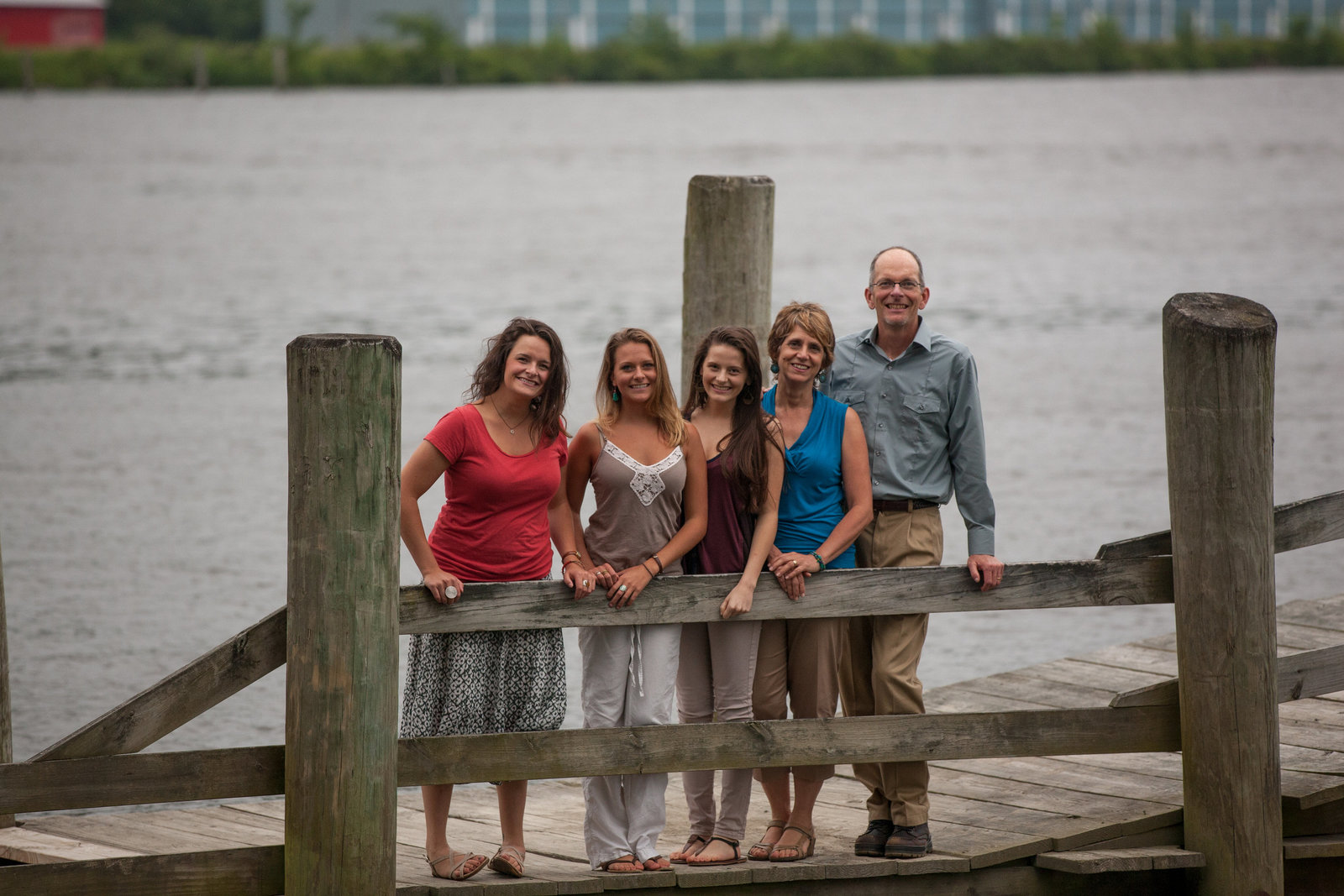 family portrait on Connecticut River