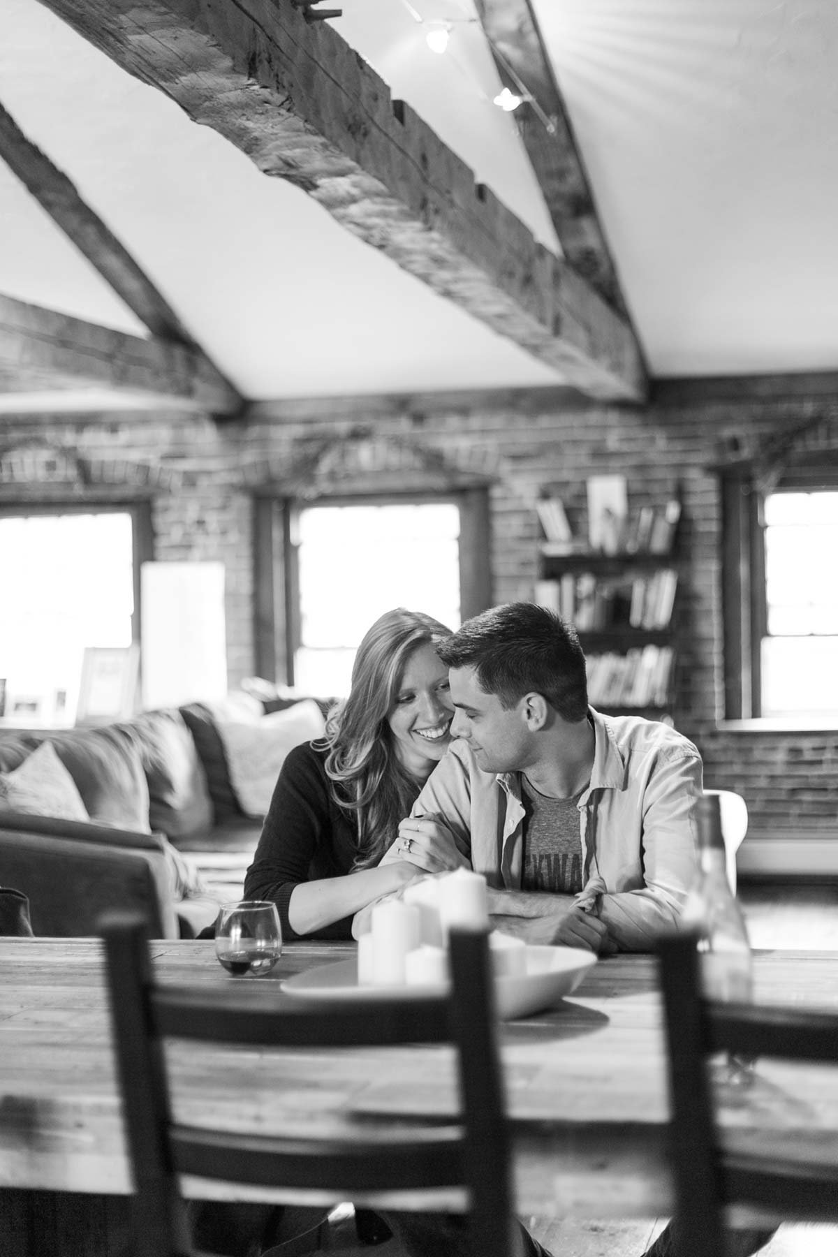 Newburyport Massachusetts Engagement Session Image