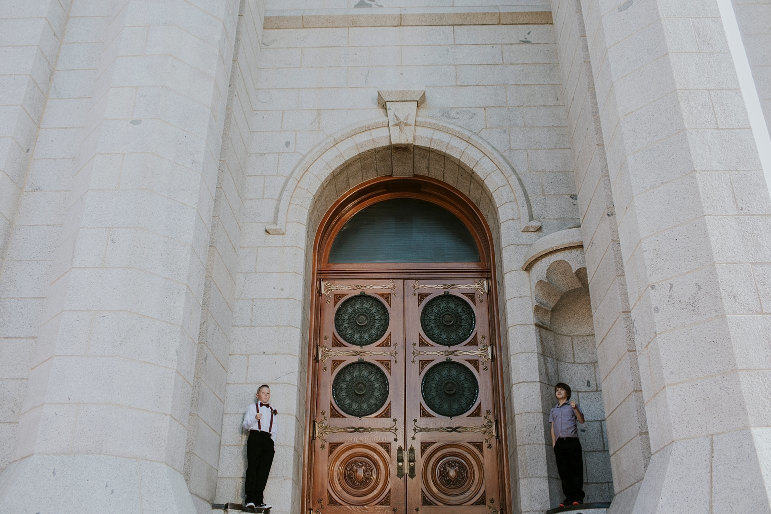 Utah Wedding Photographer Kamille Bauer Cody Calderwood Salt Lake Temple Salt Lake Hardware Building_0284