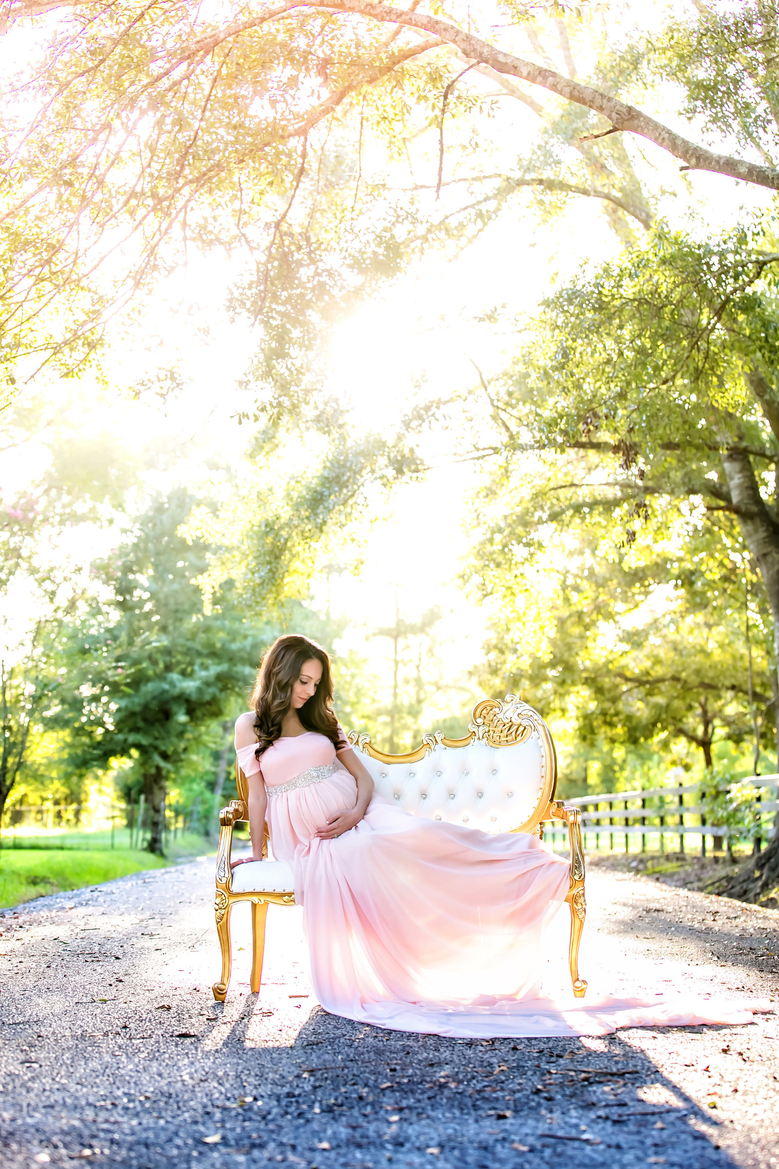 Maternity Gowns for Pictures