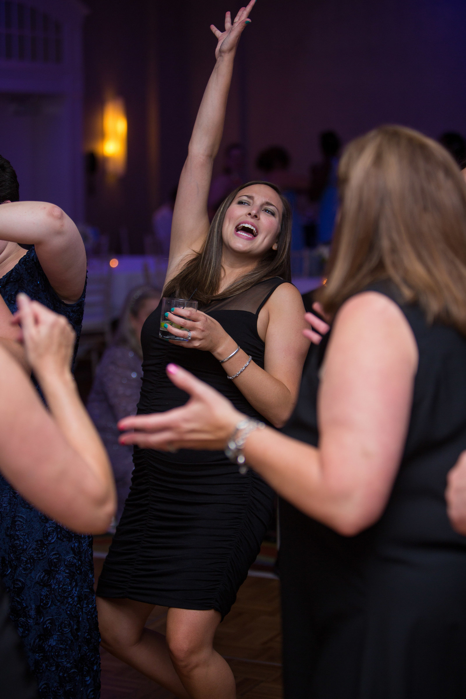 wedding photography reception dancing