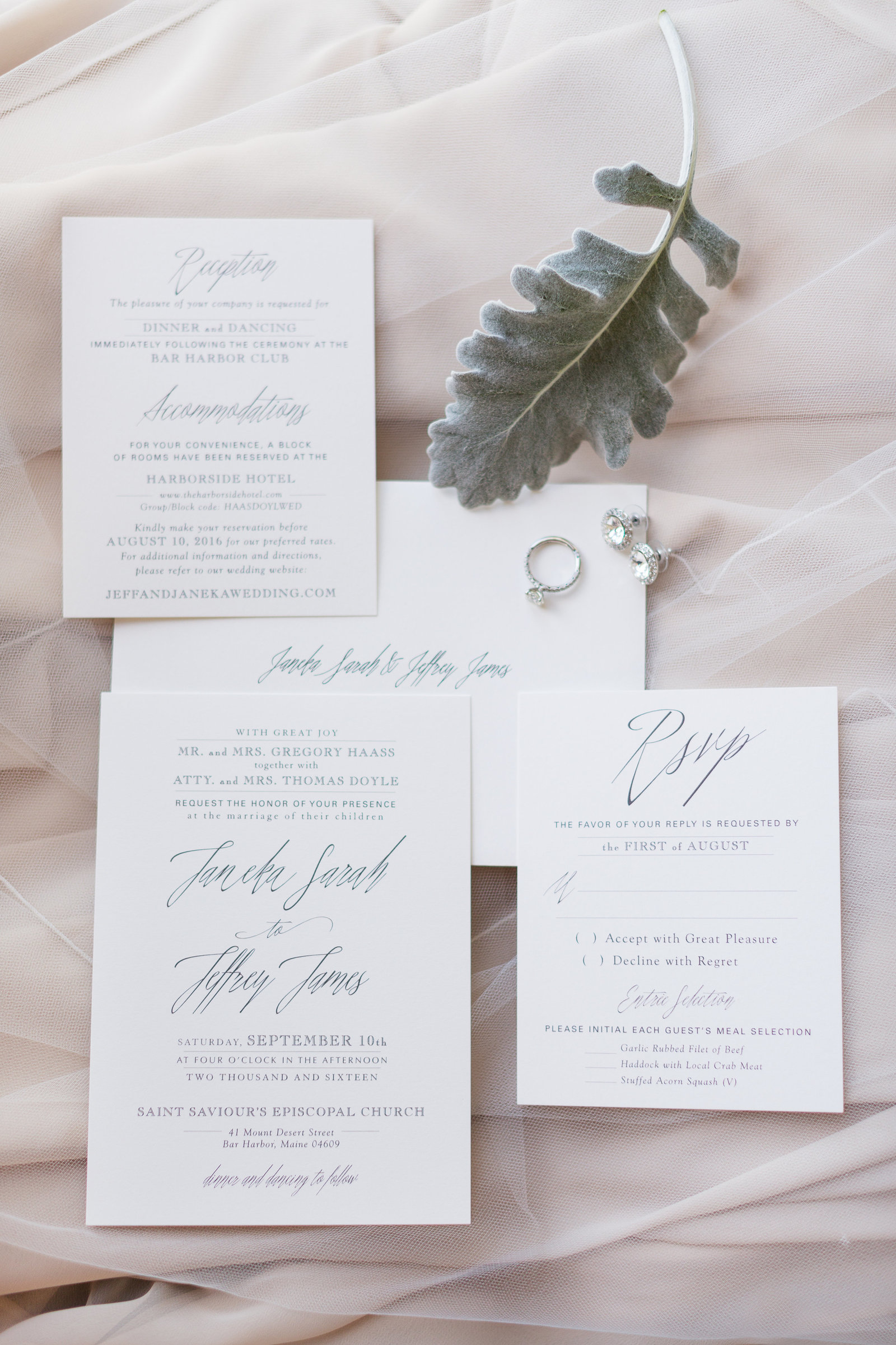 Blush Wedding Invitation Inspiration