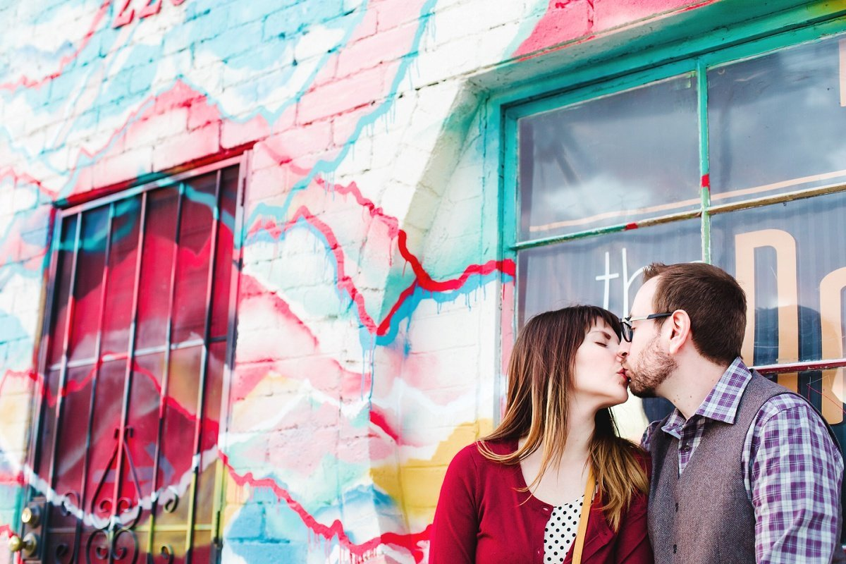 Downtown Phoenix Engagement Session Photography Portrait Tempe Scottsdale Gilbert Glendale Arizona (5)