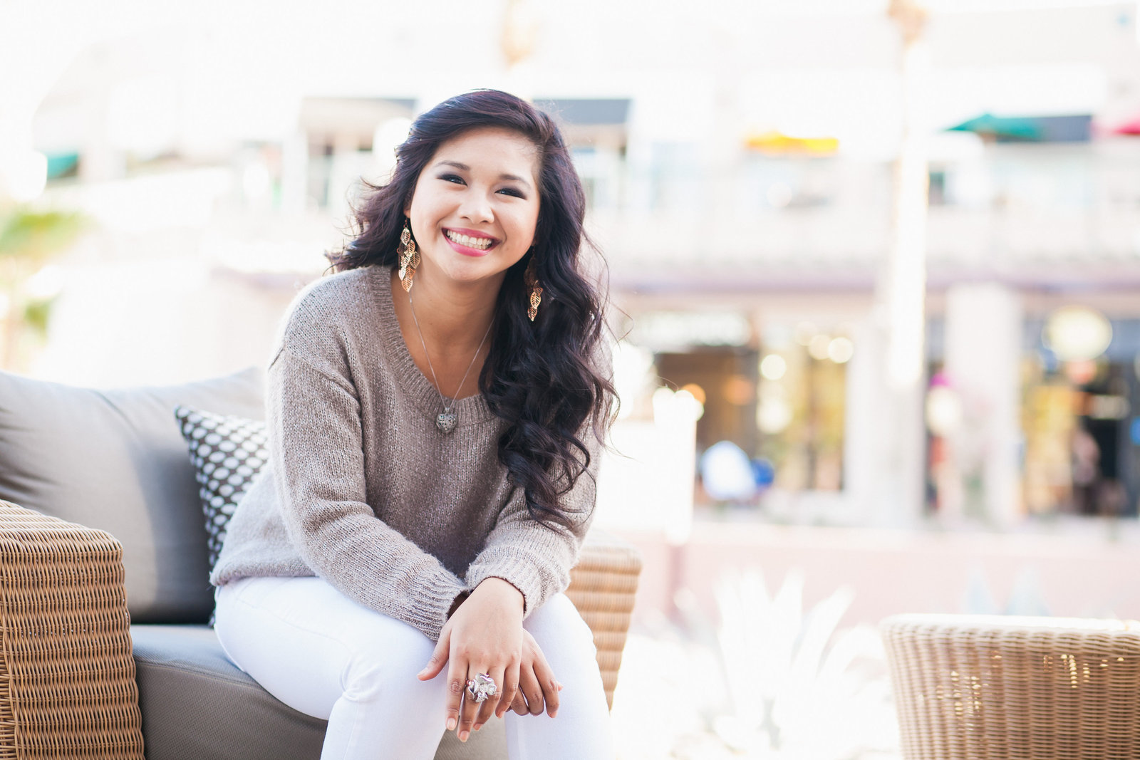 La Quinta High School senior girl El Paseo