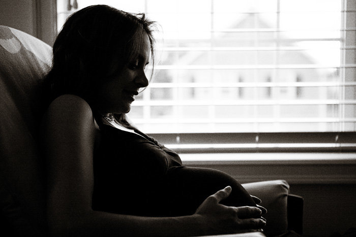 fine art black and white by Hudson Valley maternity photographer