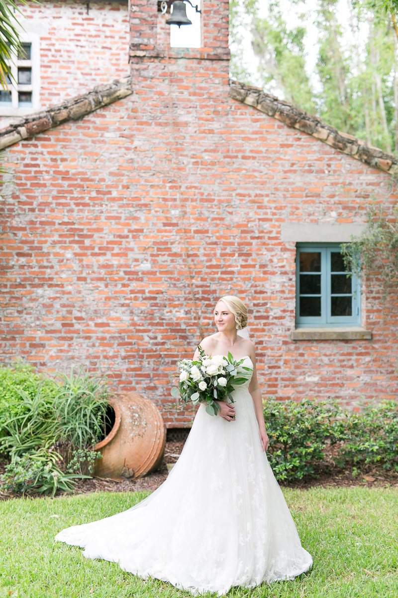Casa Feliz lush green wedding Winter Park | Casa Feliz wedding photographer | Orlando wedding --23