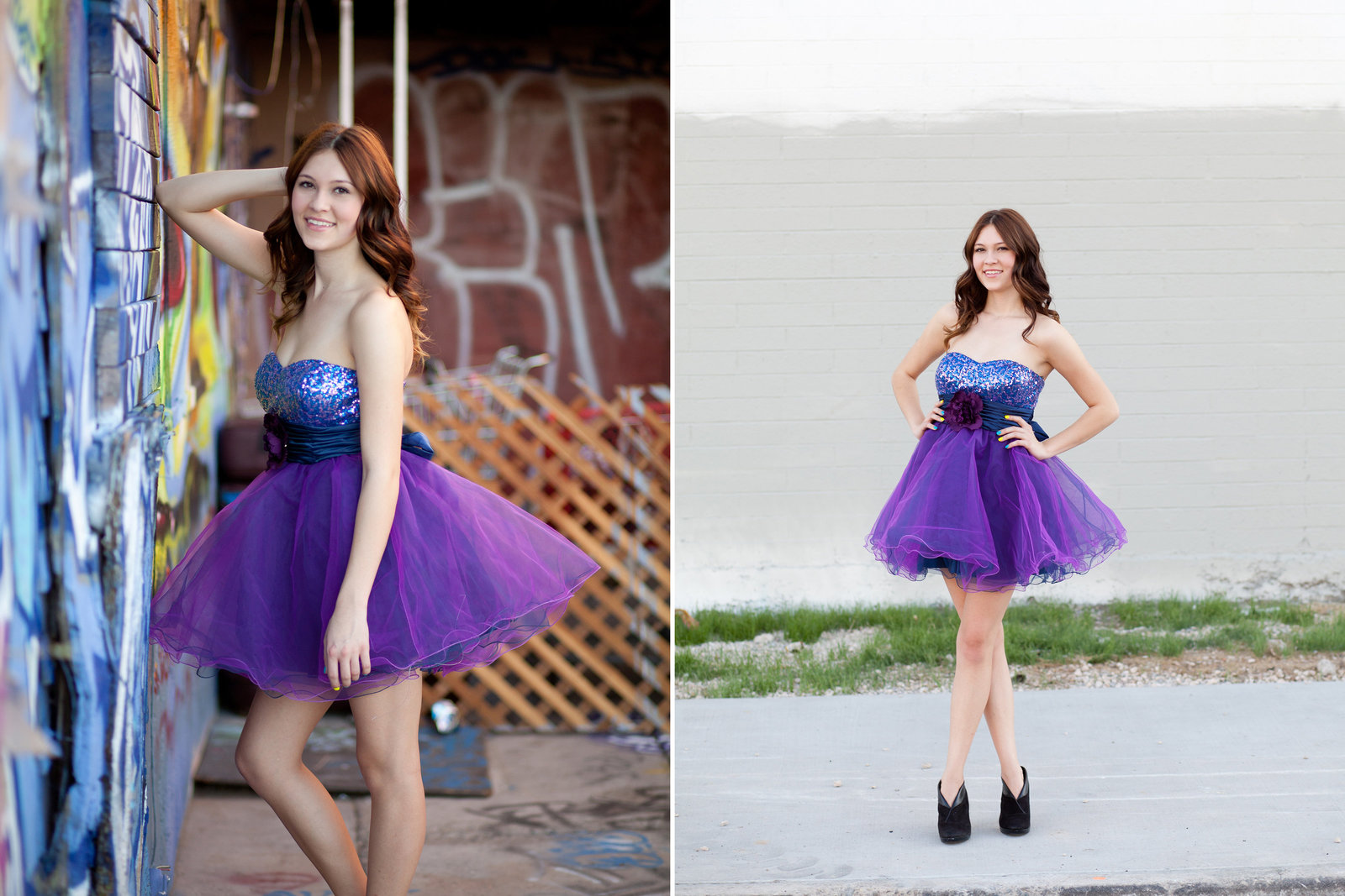 senior photos with prom dress in Portland Oregon | Susie Moreno Photography