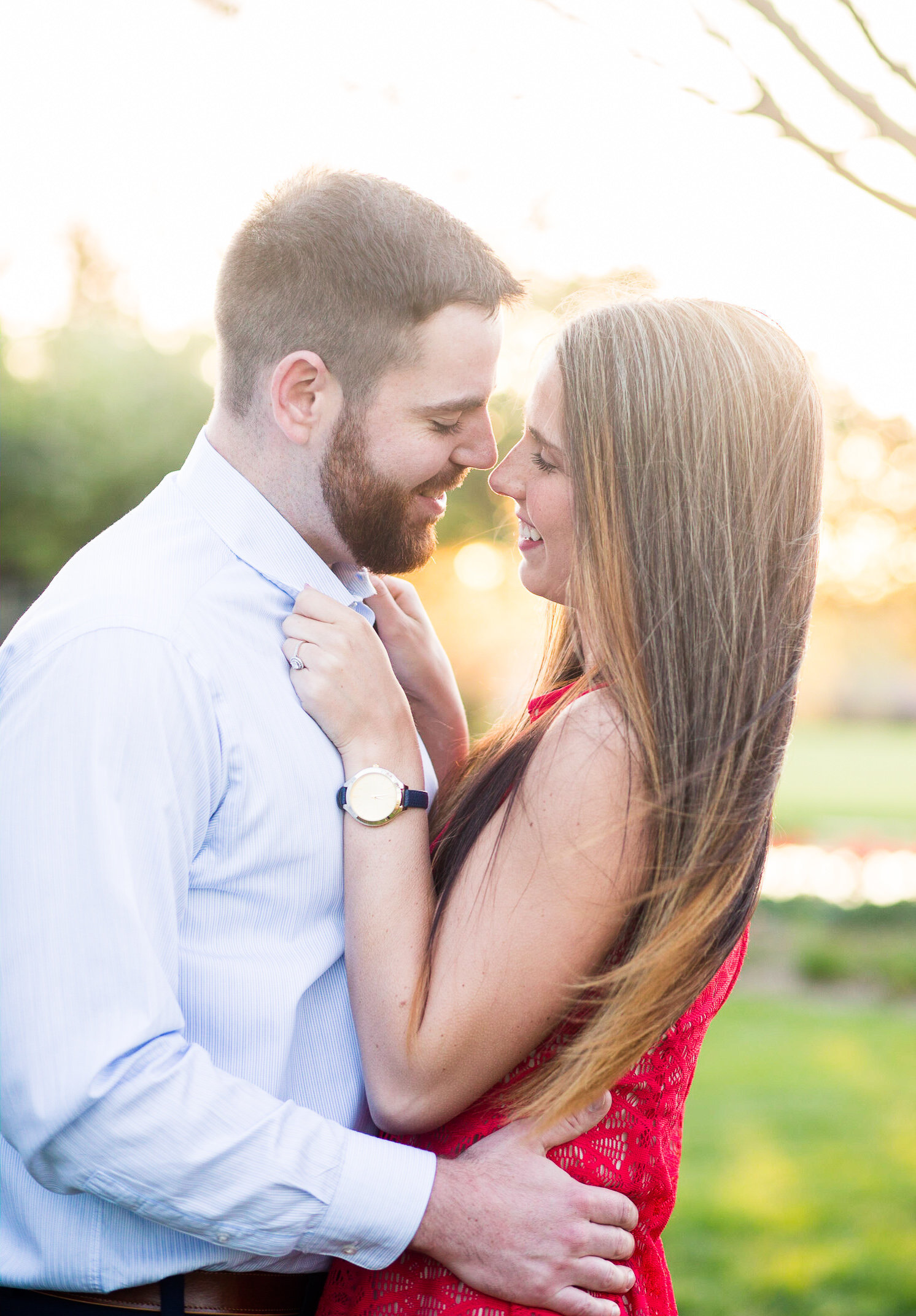 Erika & Luke- Spring Engagement -082