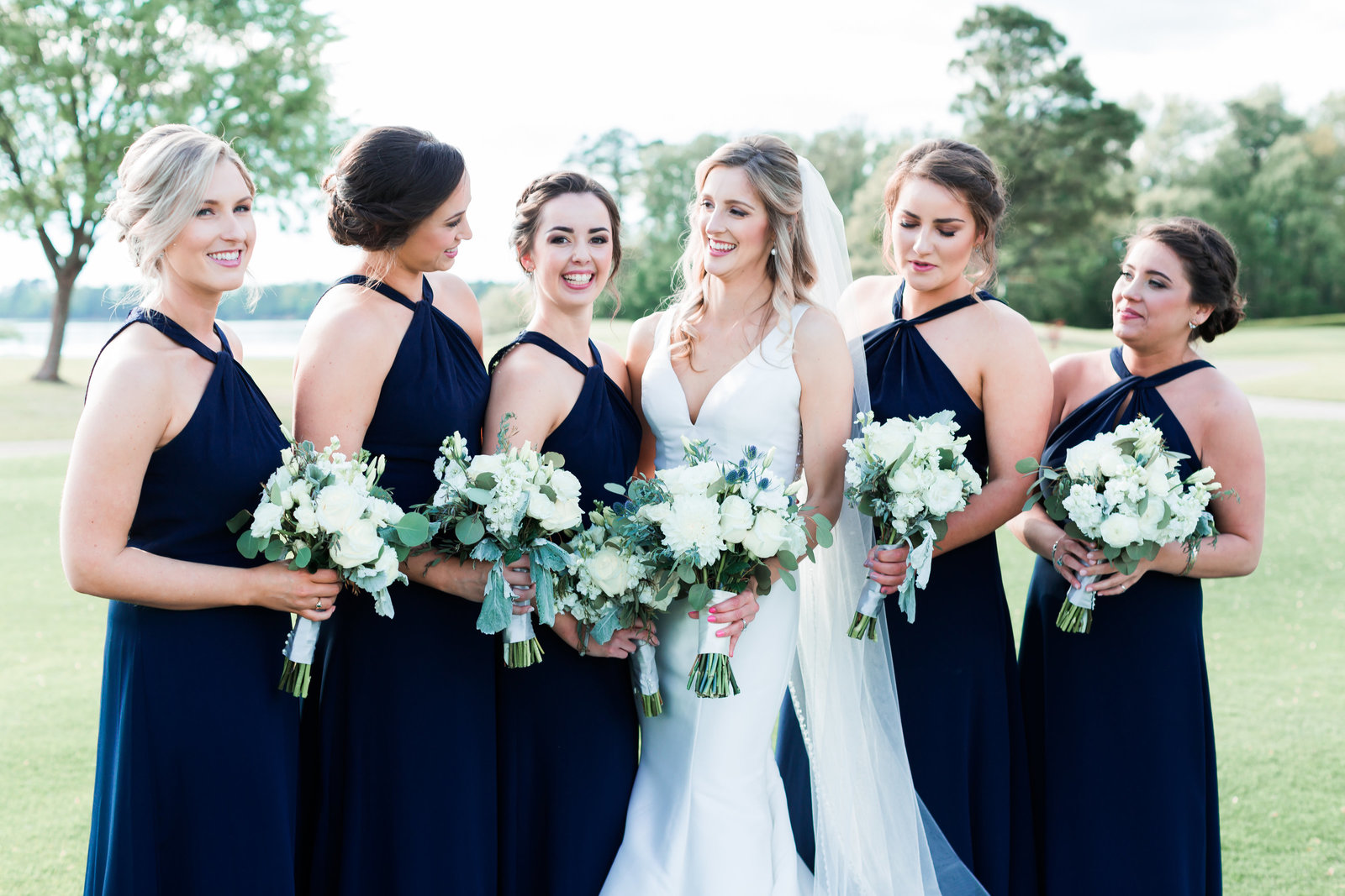 Two Rivers Country Club Classic Spring Wedding by Elizabeth Friske Photography-16