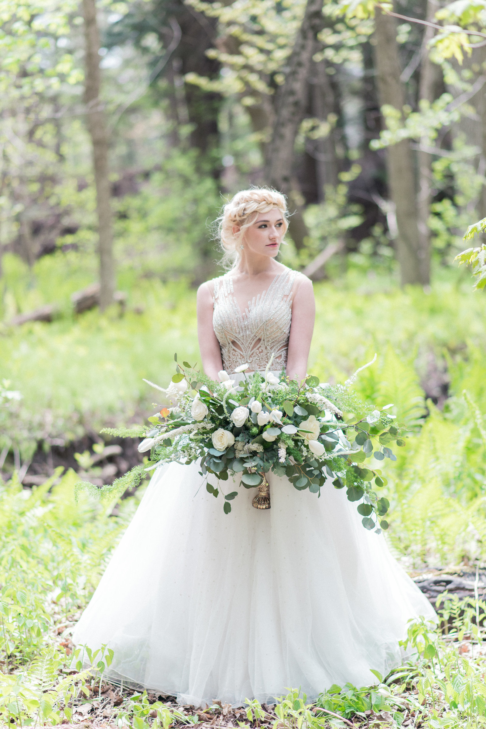 Styled Shoot Ethereal in Dove Grey-5
