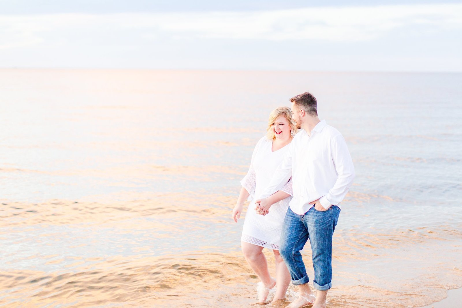 kent island terrapin beach park engagement by chesapeake charm photography