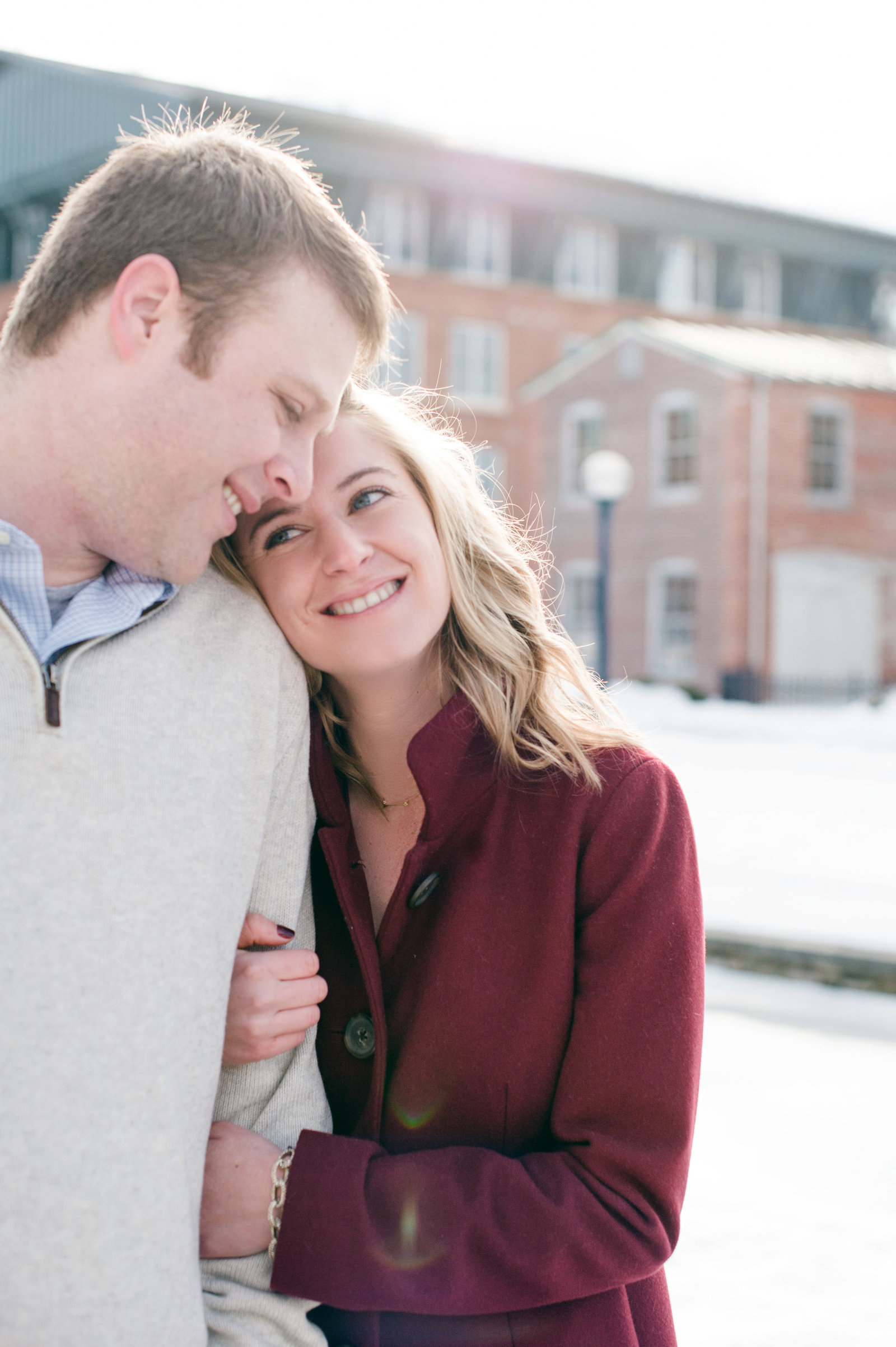 Snowy Frederick Engagement Session with Rachael and Ryan by The Hill Studios-27