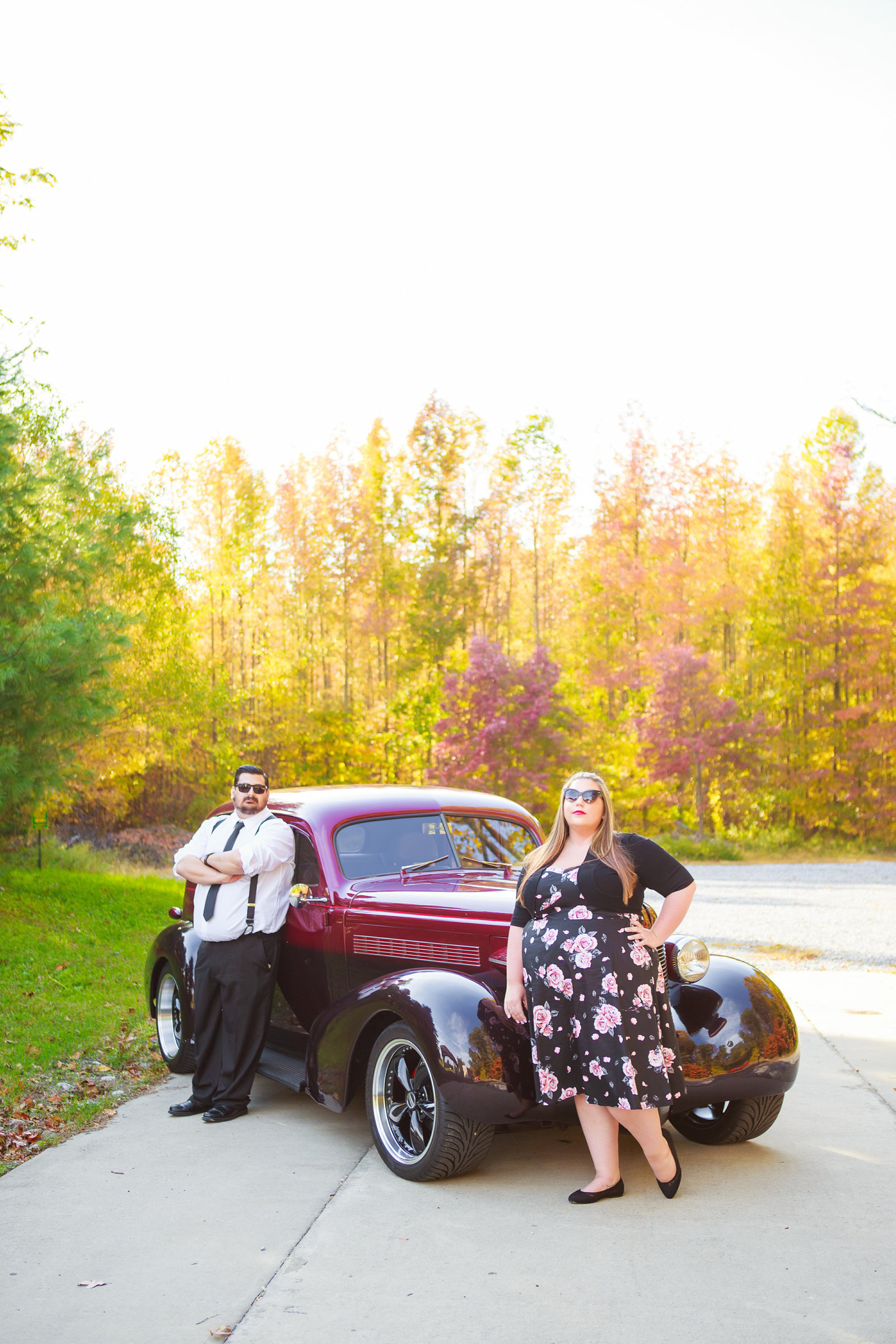 Retro_Pinup_Car_engagement_session_Nj015
