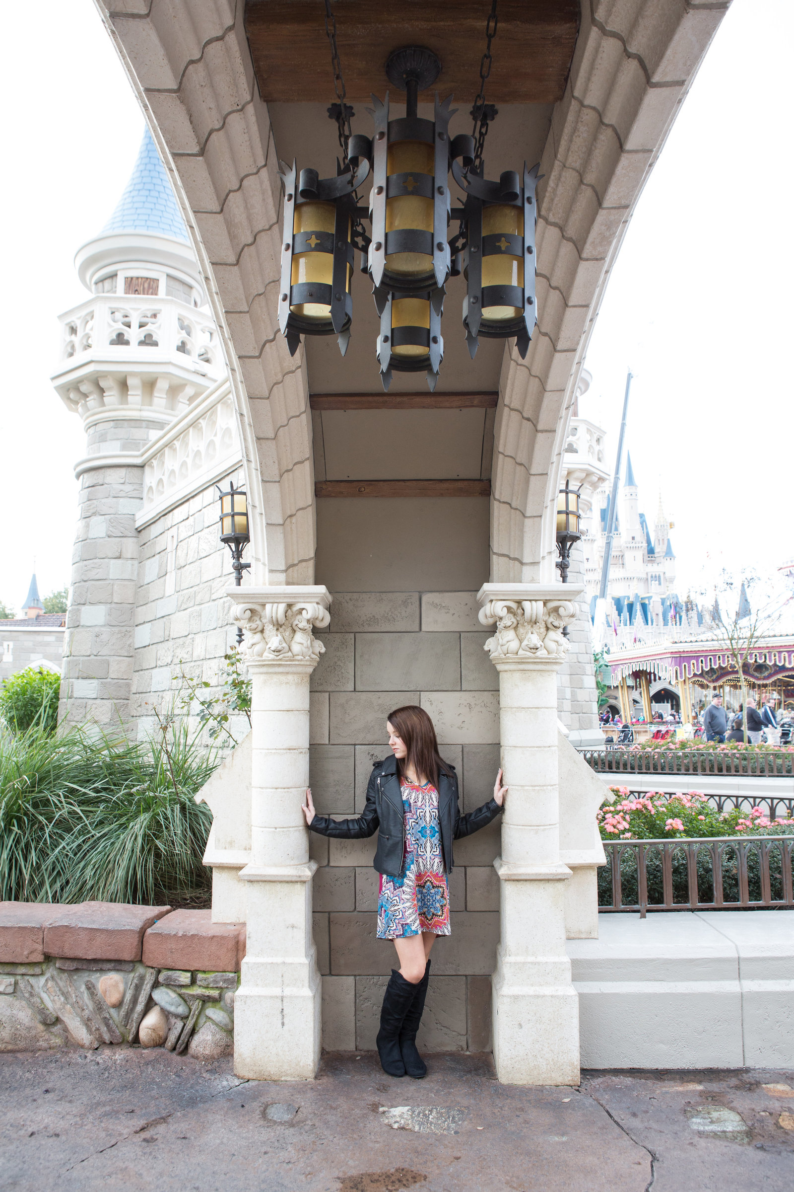 disney world senior portraits