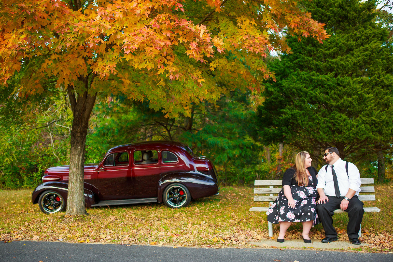 Retro_Pinup_Car_engagement_session_Nj066