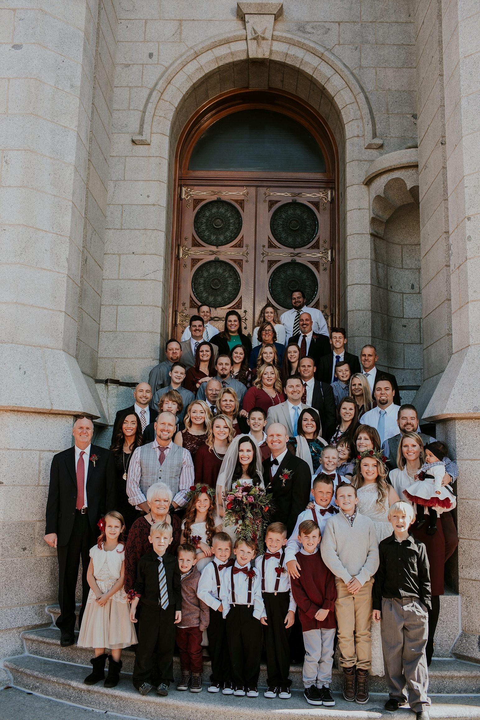 Utah Wedding Photographer Kamille Bauer Cody Calderwood Salt Lake Temple Salt Lake Hardware Building_0283