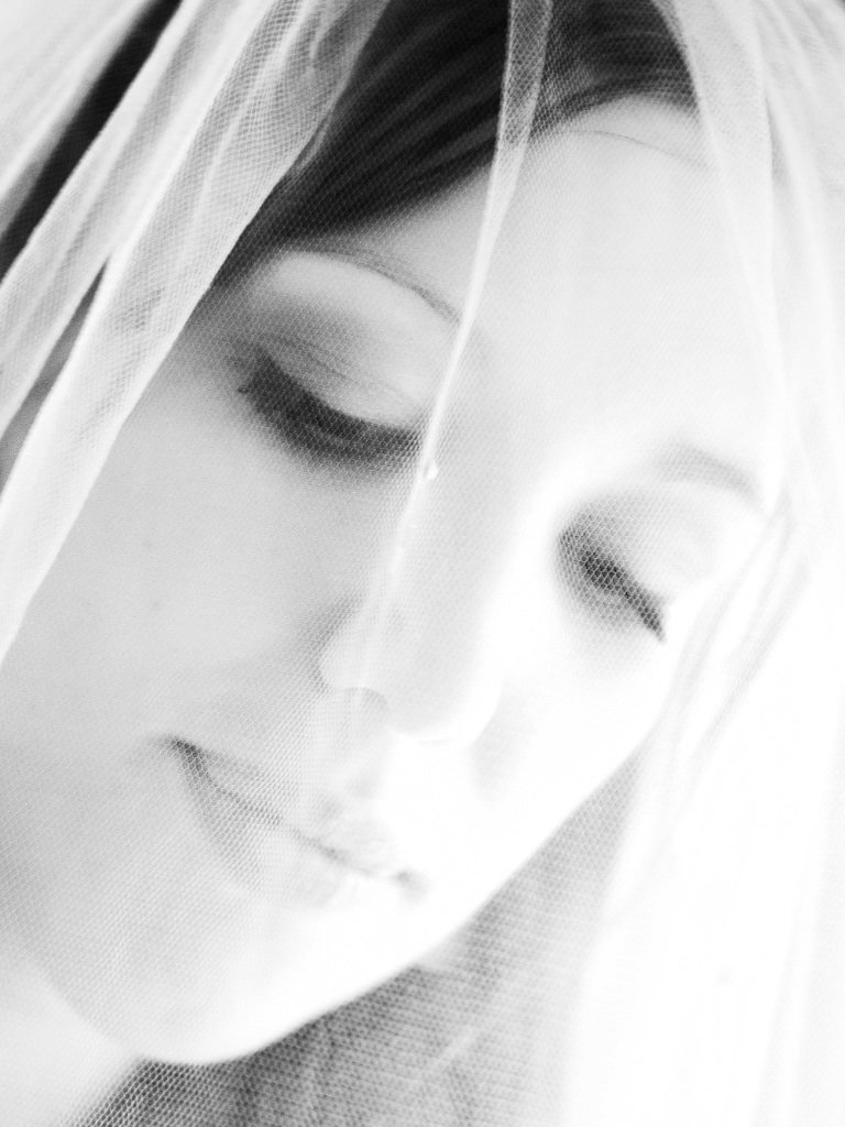Bride Face close up