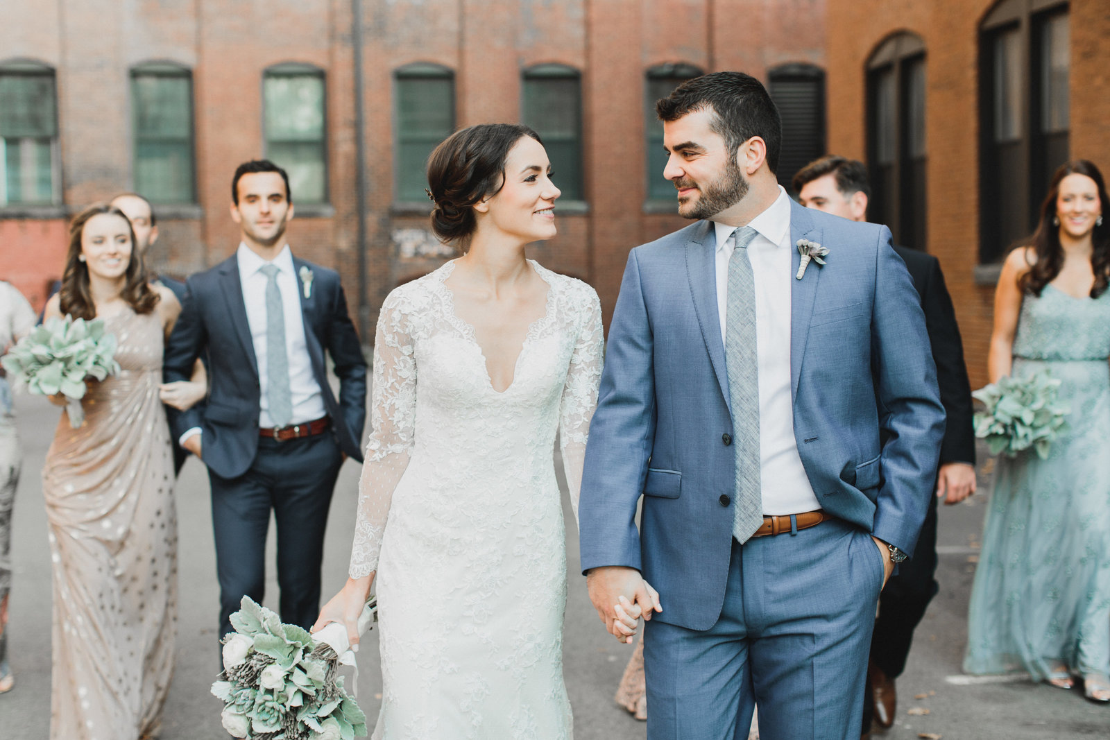 NH Industrial Wedding Ashley Largesse Photography