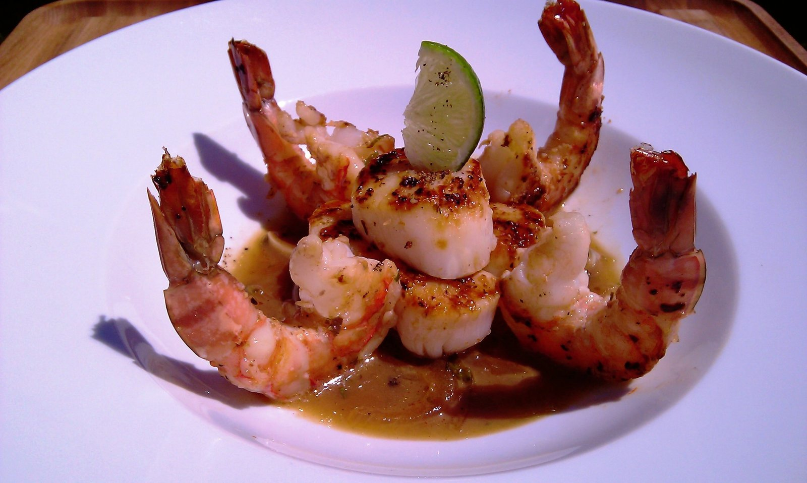 Shrimp & Sea Scallops w Lime Sauce