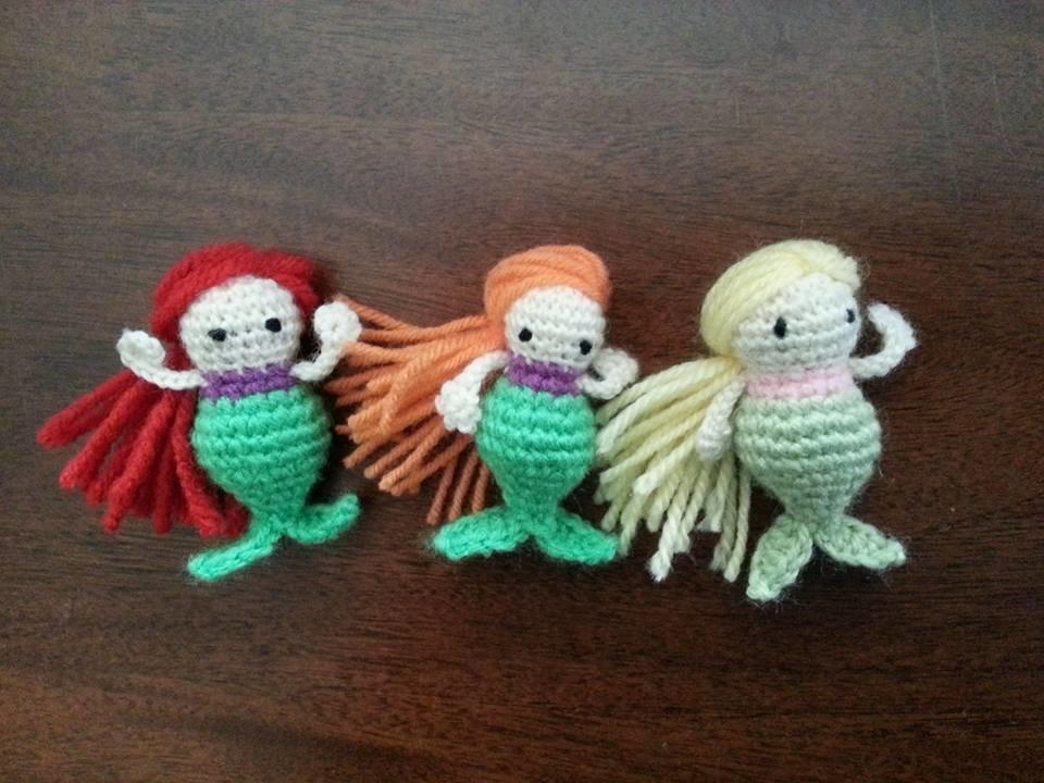 Yarn Mermaids Wood