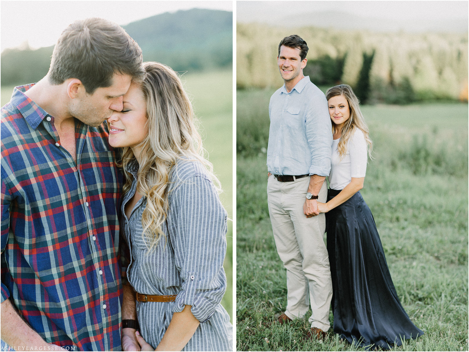 Vermont Engagement Session Ashley Largesse Photography