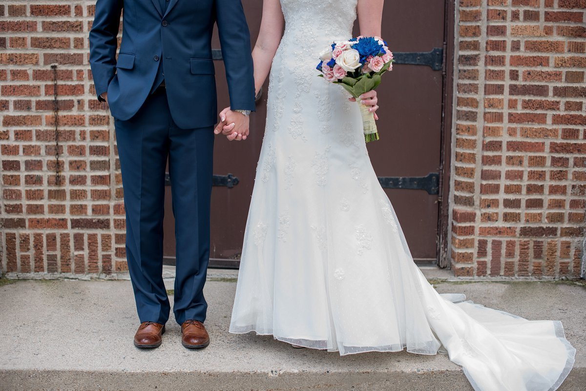 Fargo wedding photography by Kris Kandel portraits of the bride and groom's details.