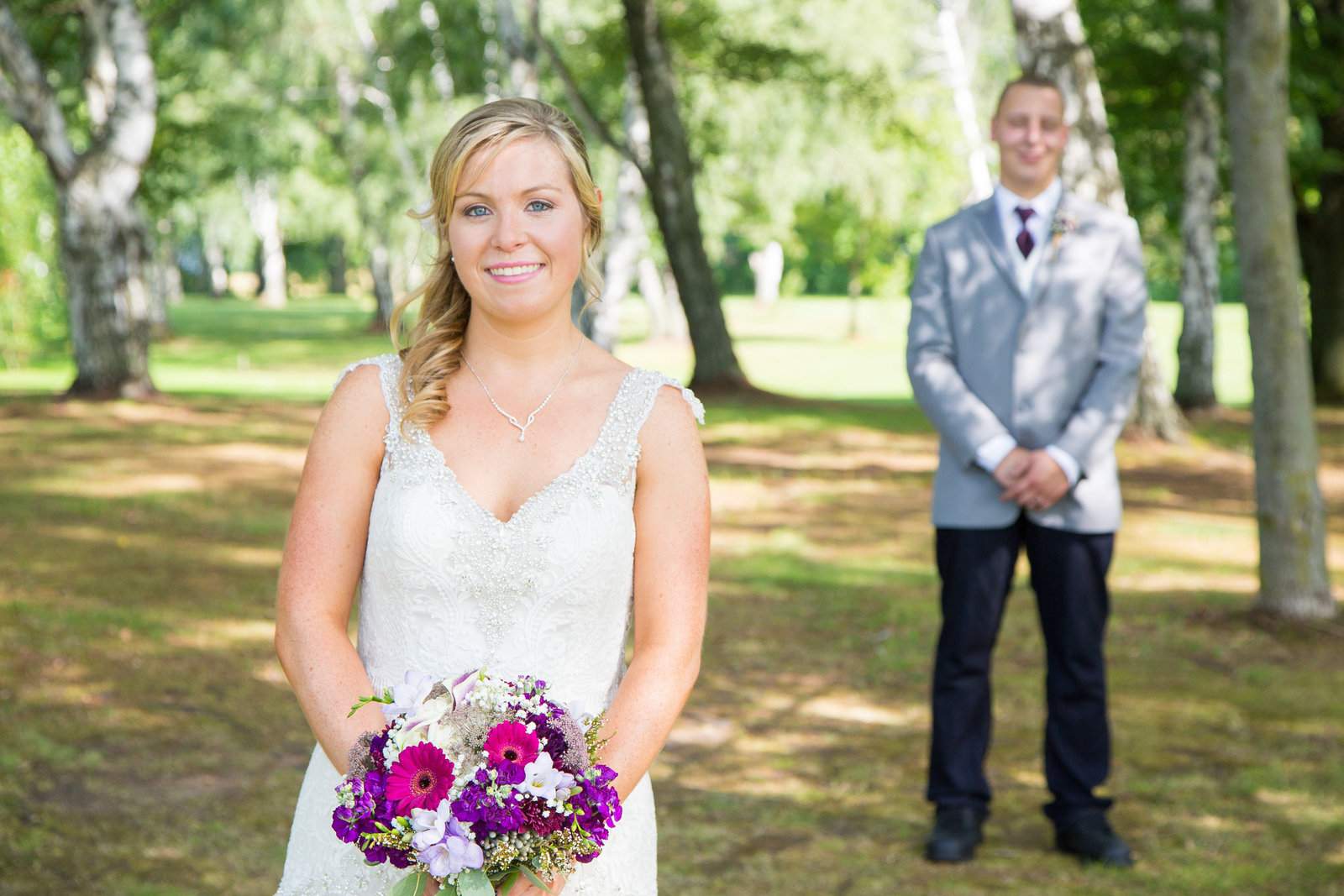 wedding photography bride and groom portrait