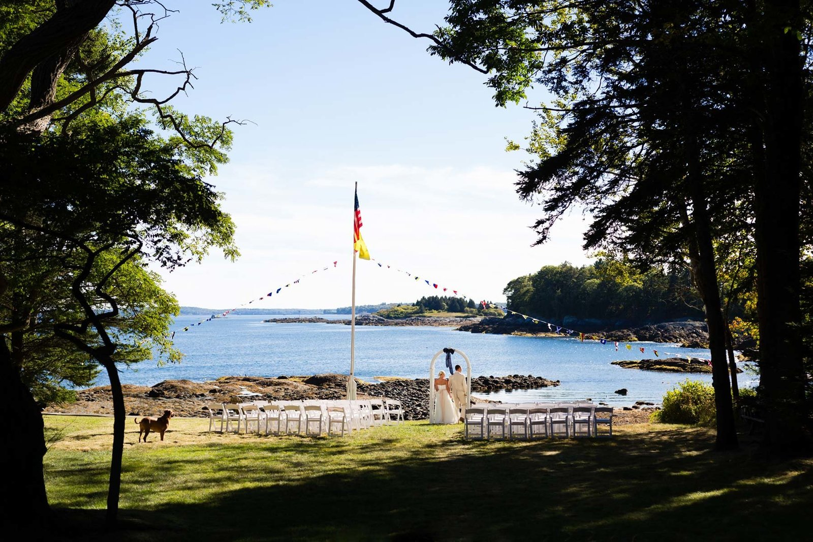 Rockland Maine Wedding with Nautical Inspired details