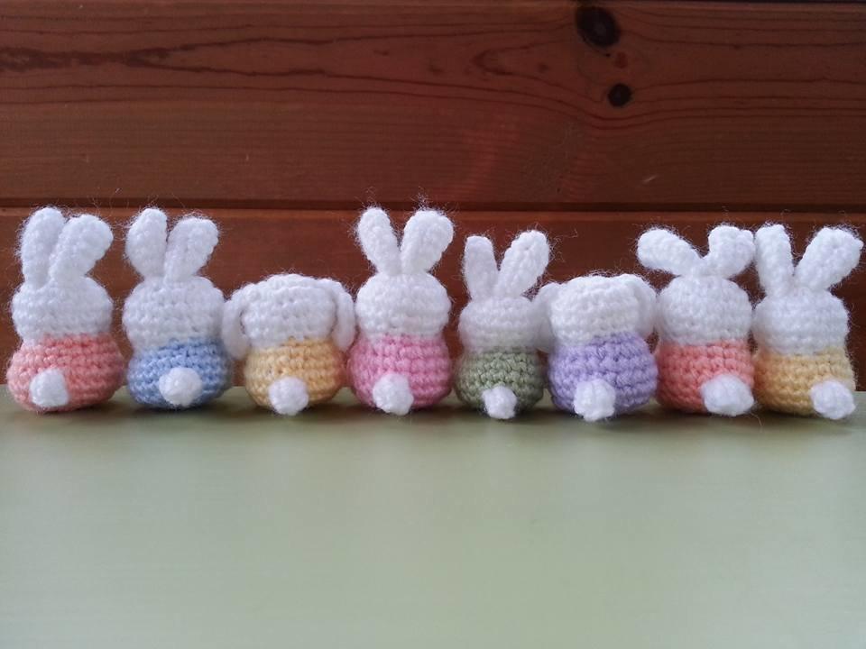Yarn Bunny Backs