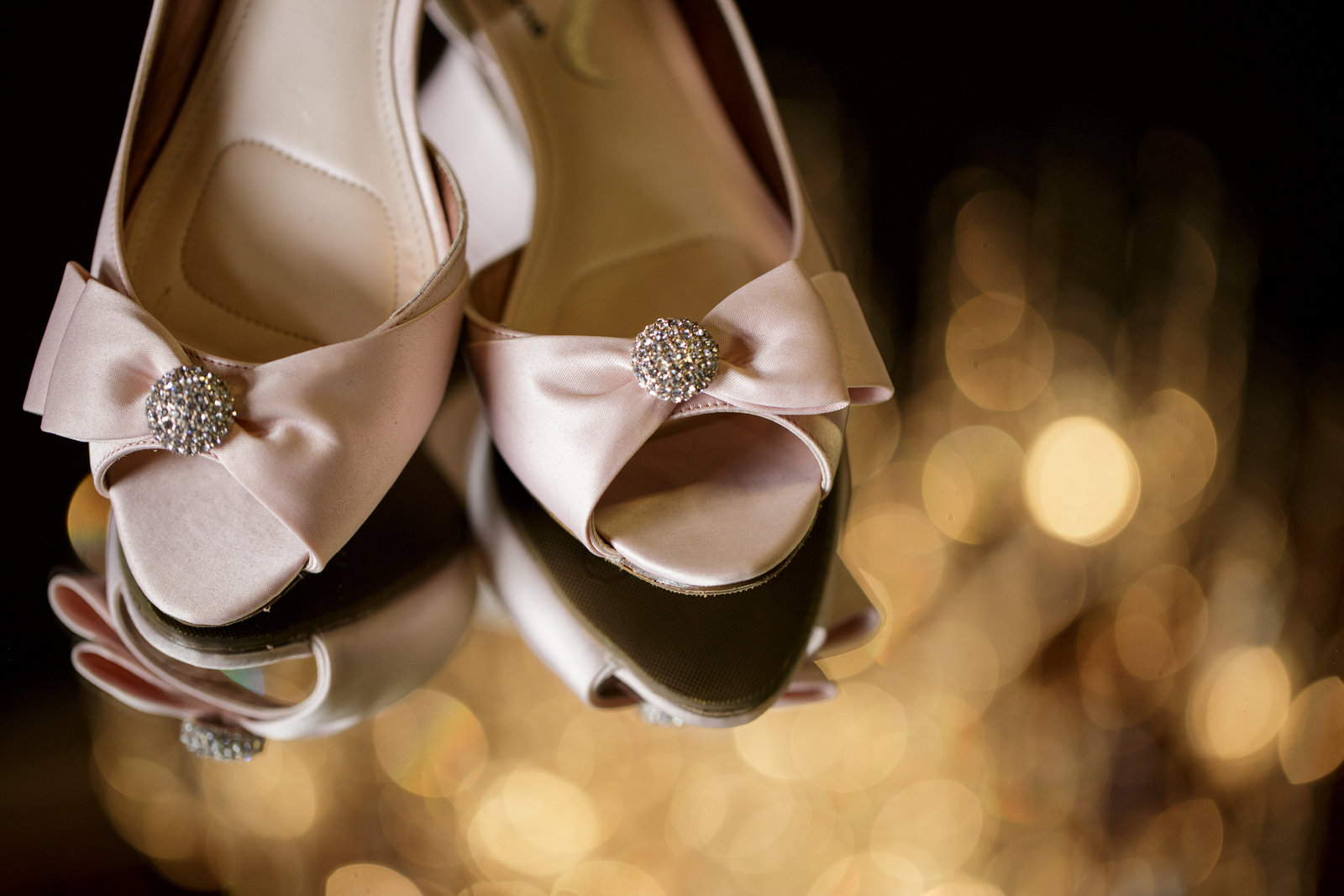 wedding details shoes shot