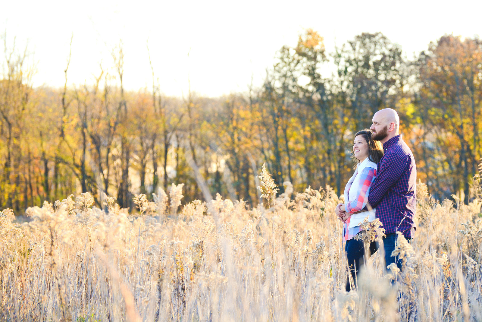 Fall Family Pictures in Wheat Field-17