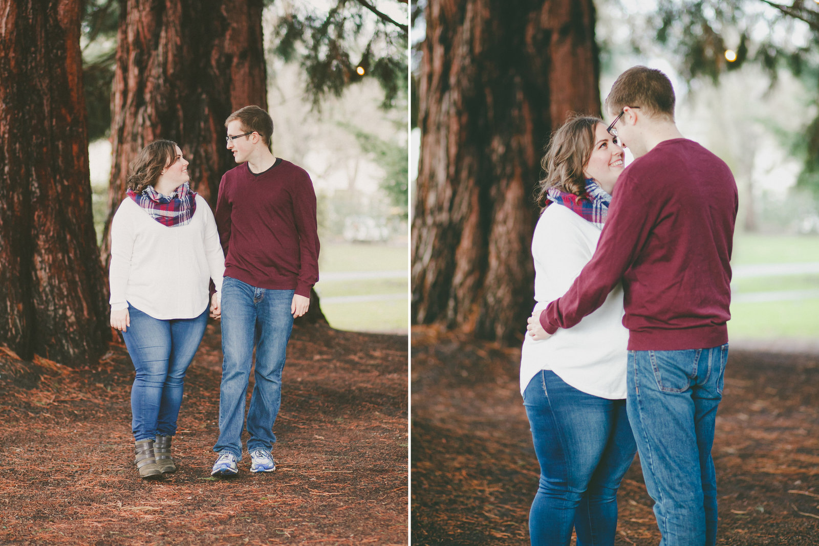 Outdoor portland engagement photos | Susie Moreno Photography