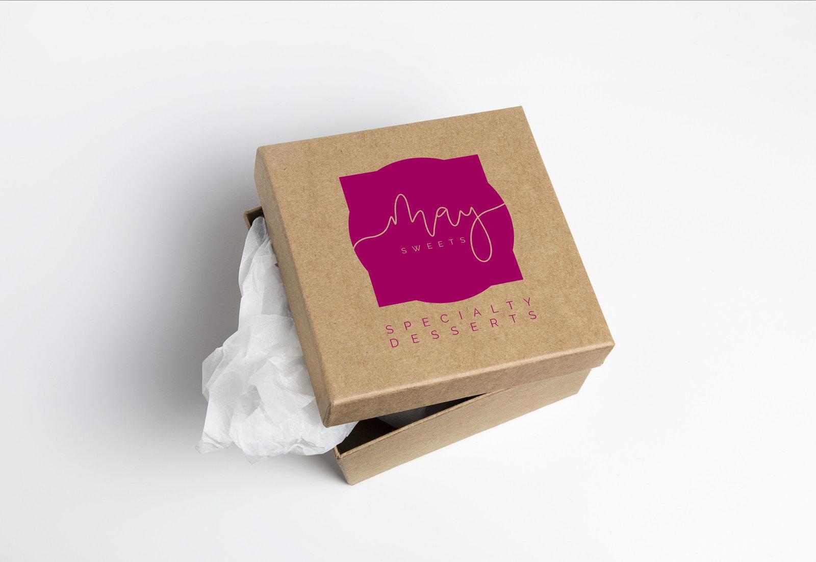 Cardboard Box may sweets