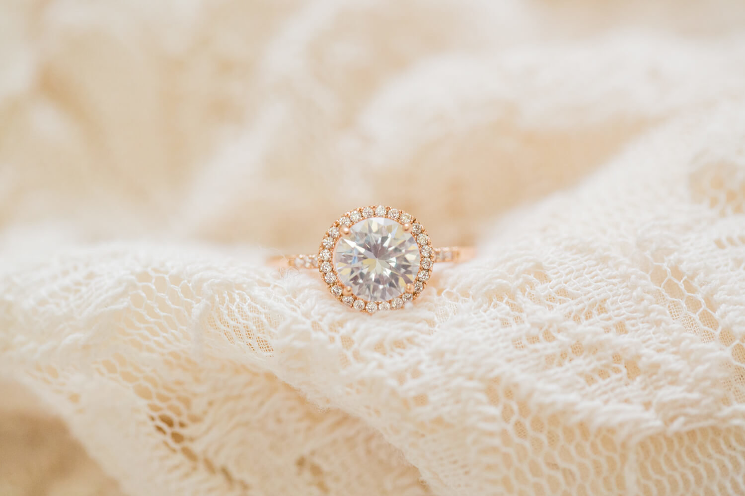 ring shot Columbia wedding photographer Jessica Hunt