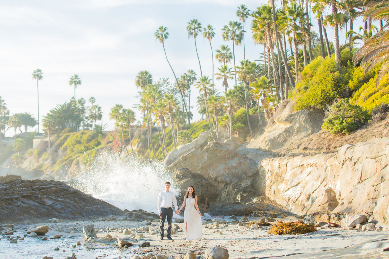 Laguna Beach Engagement Session Photography
