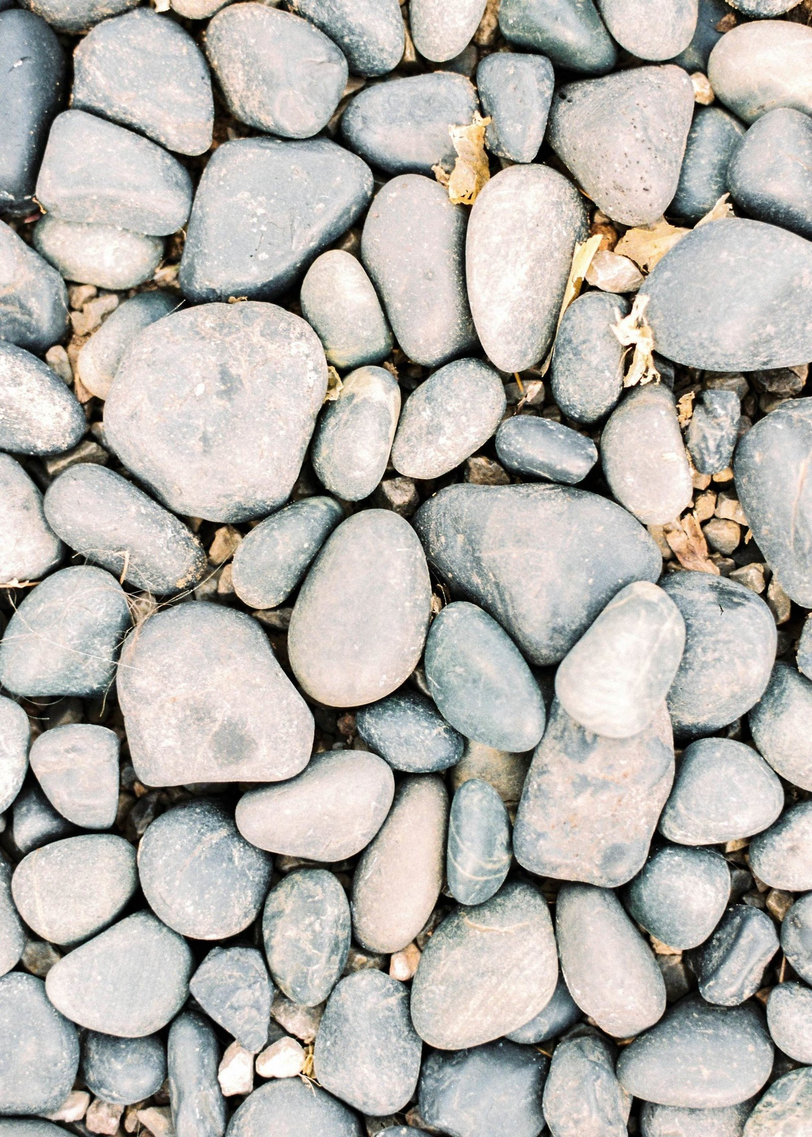 Close up stones shot on film styled shoot