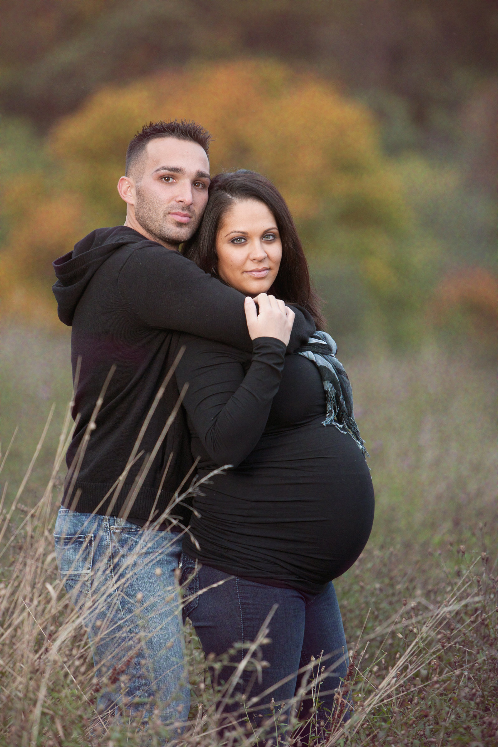 casual outdoor maternity photography in the hudson valley in the fall by Autumn Photography, Hudson Valley professional photographer