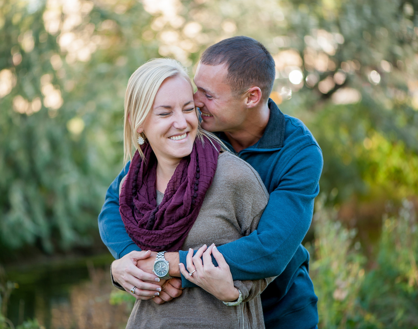 Grand Forks engagement photographer kris kandel