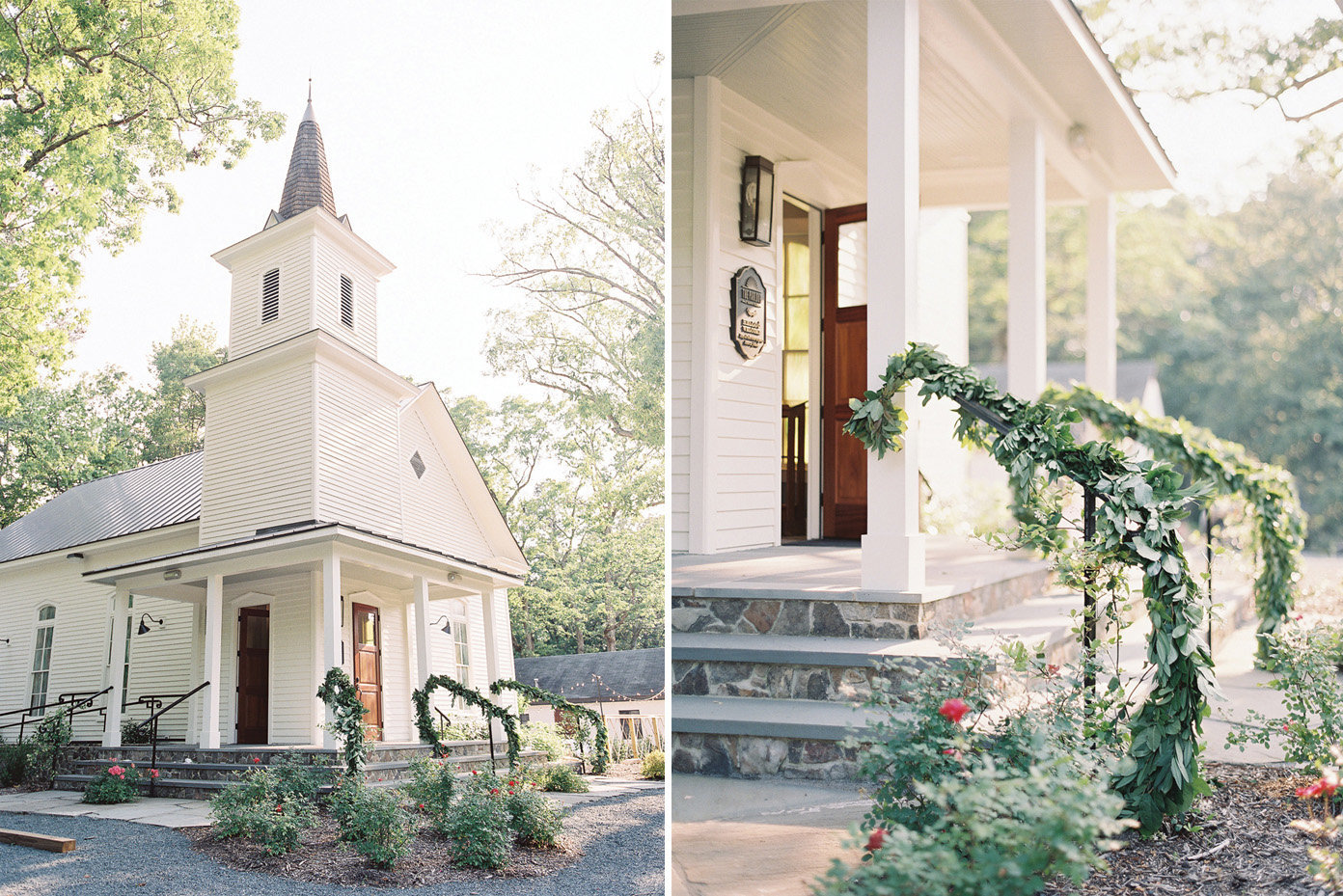 Southern Weddings Magazine styled shoot at The parlour wedding venue in Chapel Hill, North Carolina