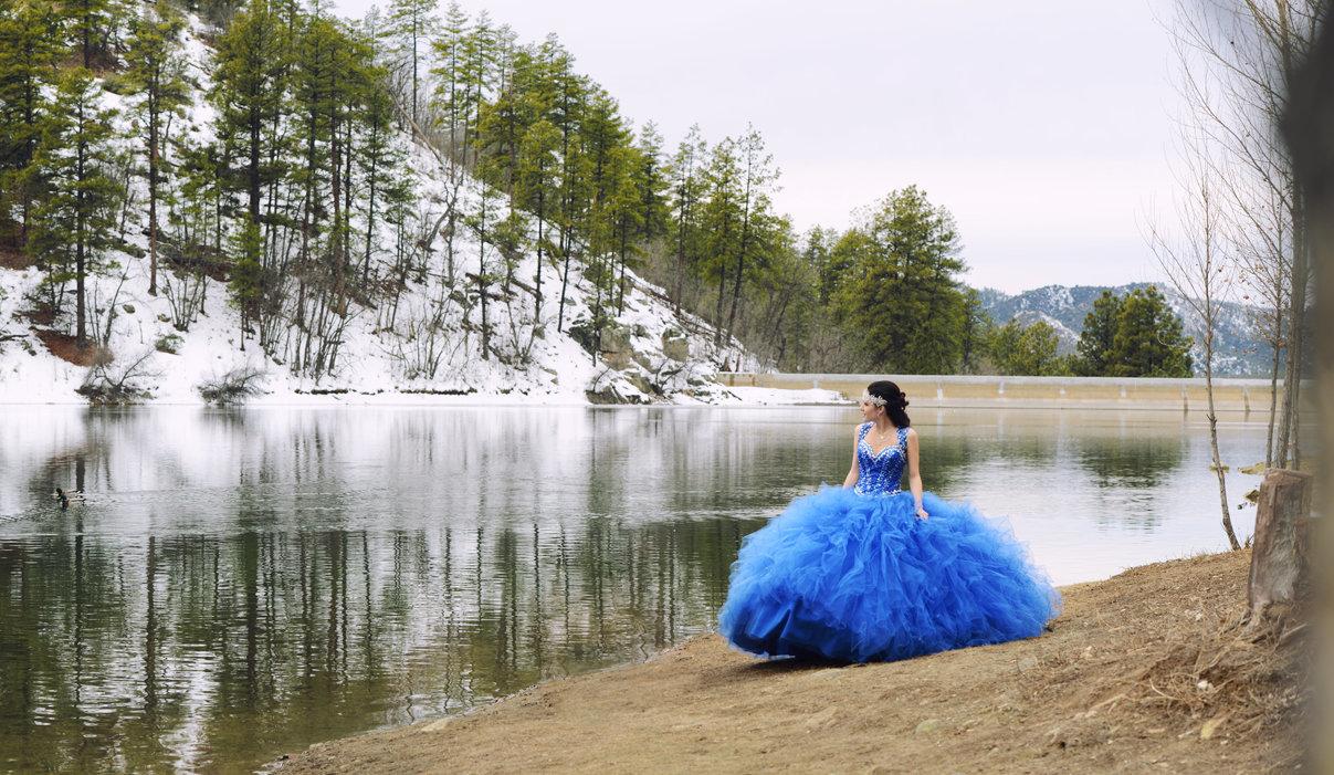 Quinceañera Frozen