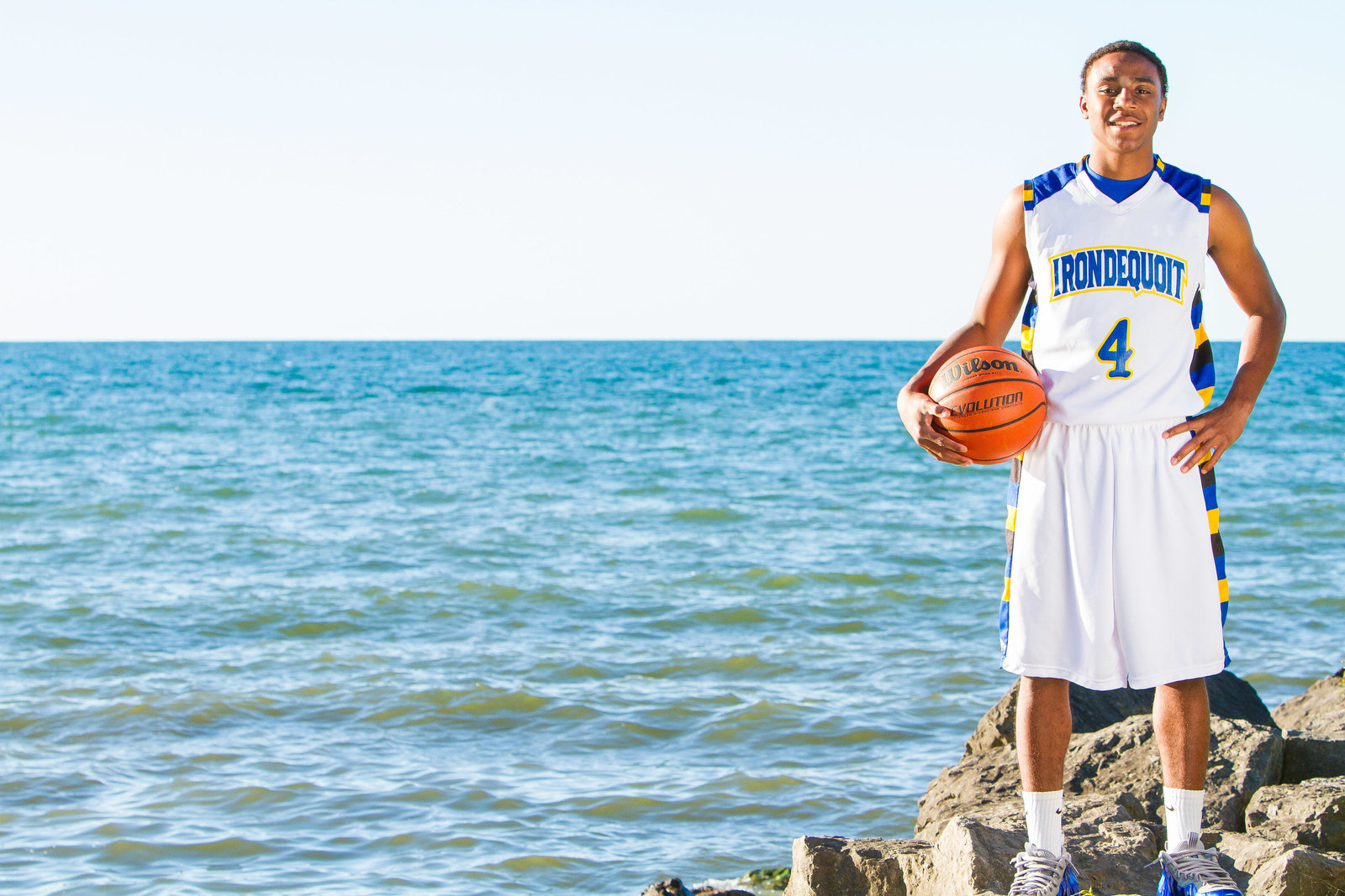 Senior portrait basketball by lake ontario-47