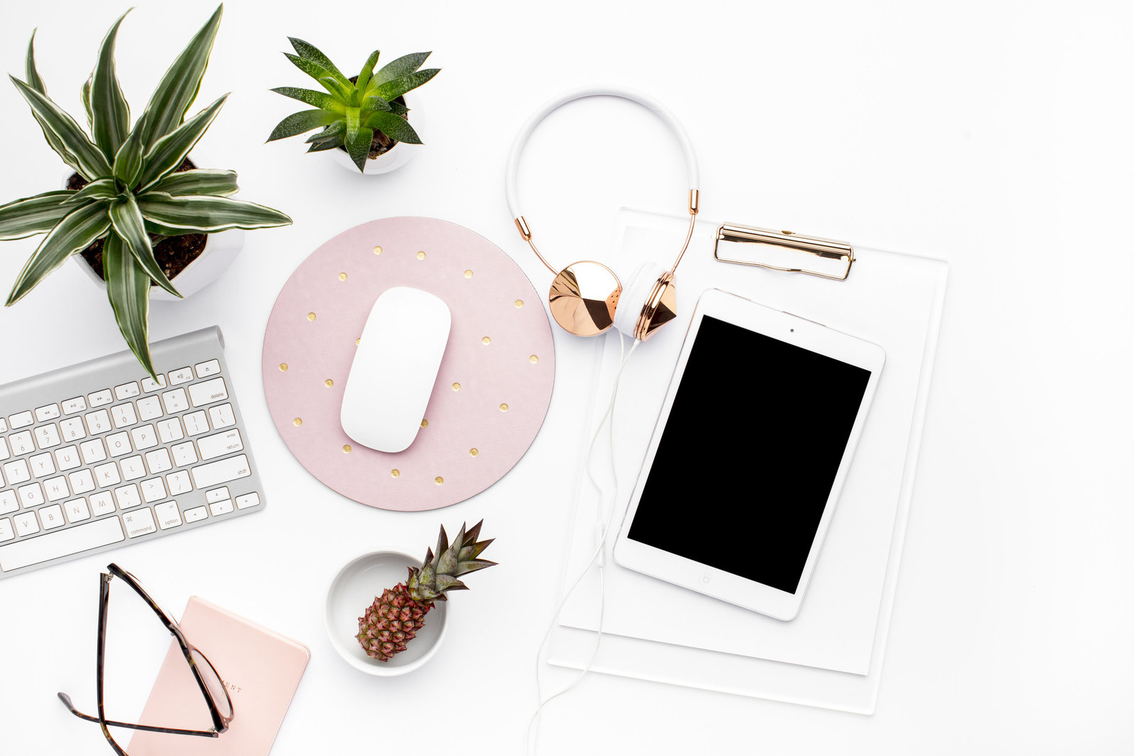 Styled Stock Photography_Blush and Greenery Desktop_SC Stockshop17
