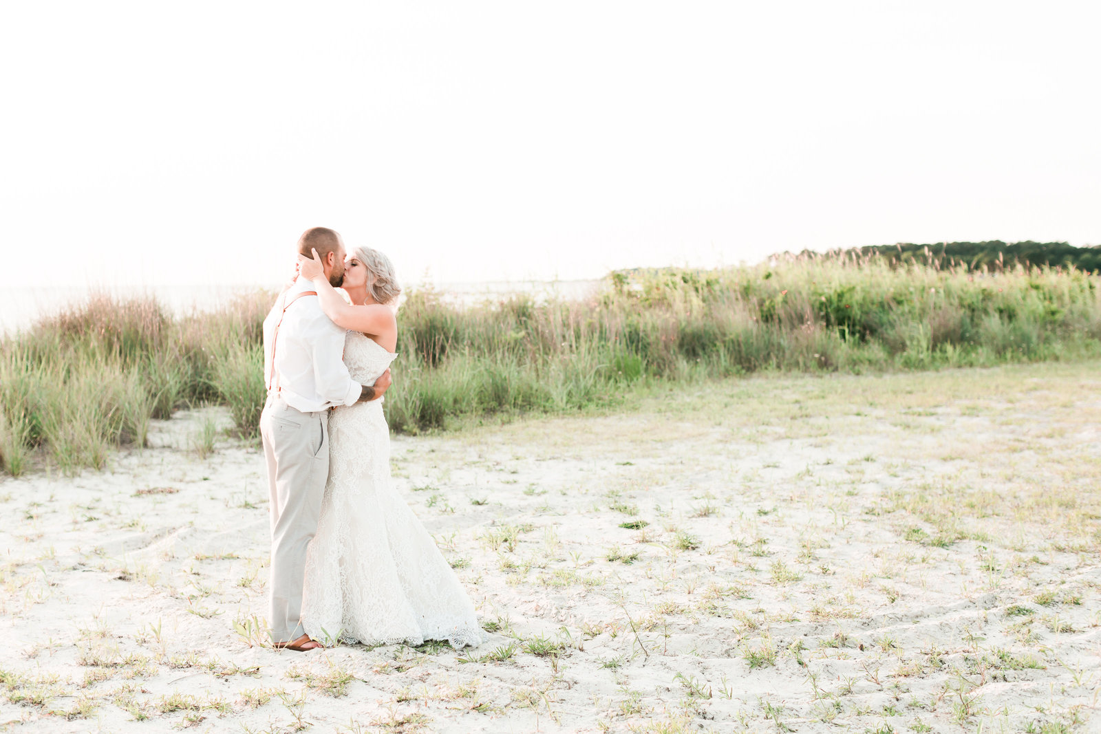 Oyster Farm Brunch Wedding by Elizabeth Friske Photography-48